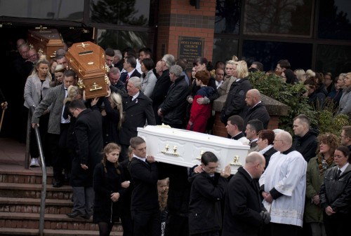 Buncrana pier victims laid to rest