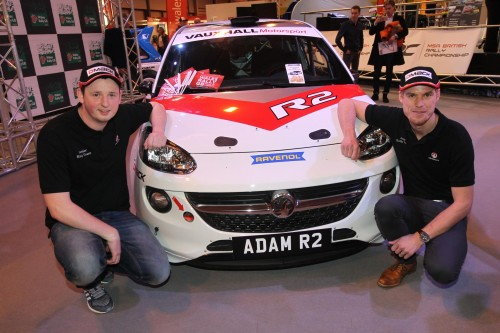 Newton hosts Mid Wales British Rally stages