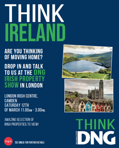 Irish properties for sale in UK roadshow