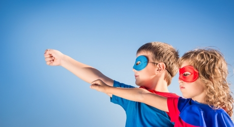 Up, up and away! Be a superhero @ LDO