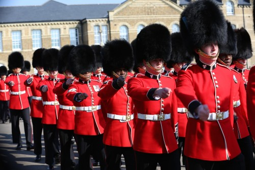 Irish Guards St Patrick's Day Parade