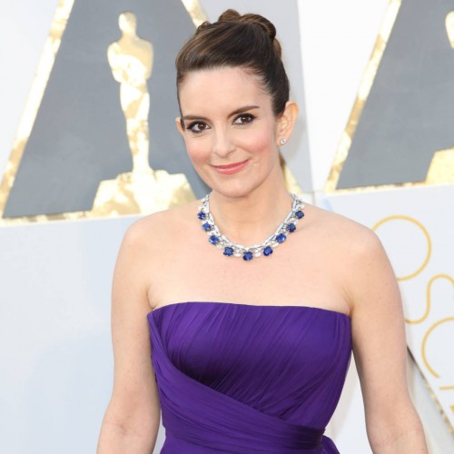 Tina Fey went all Elizabeth Taylor at the Oscars