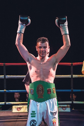 UPTON TAKES IRISH TITLE