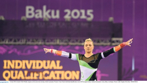 London athlete first ever gymnast to head to Olympics for Ireland