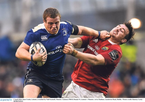 Leinster capitalise on Munster's lack of composure