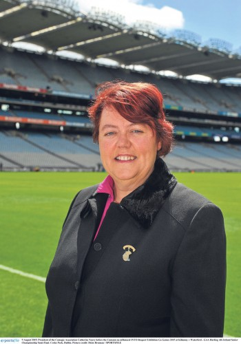 Camogie president highlights sport's 1916 contribution