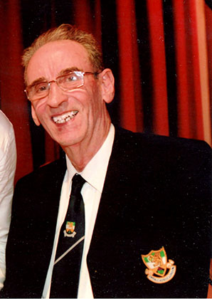 Peter Hynes, London's Mr. Offaly, who died at the week-end at the Royal Free in Hampstead from asbestosis. Painter decorator Peter moved to the UK from Belmont in Offaly in 1953, first settling in Northampton before moving to London in 1982.