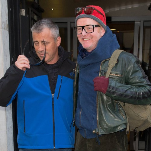 Chris Evans and Matt LeBlanc 'row over Top Gear stunt'