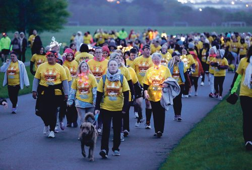 More than 120,000 walk into the dawn