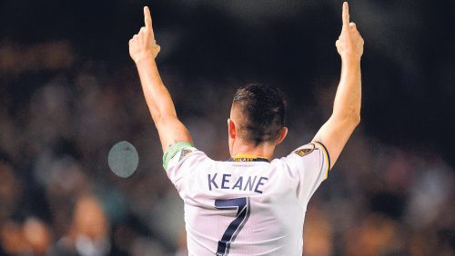 Keane's Two Goal Return