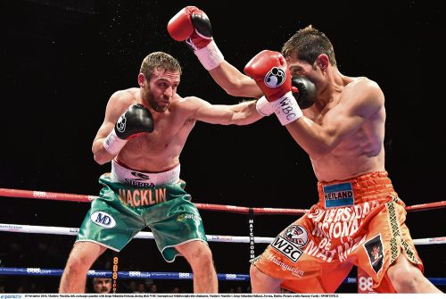Matthew Macklin on retiring