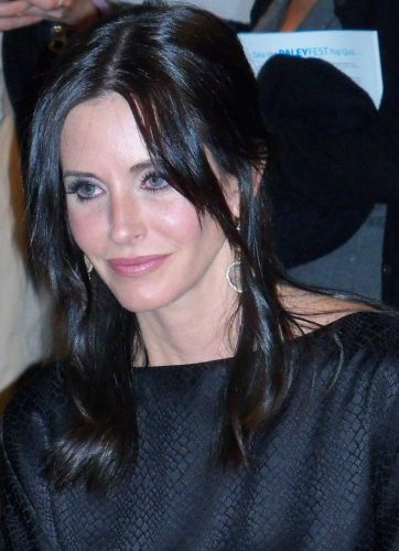 Courteney Cox shoots Ireland