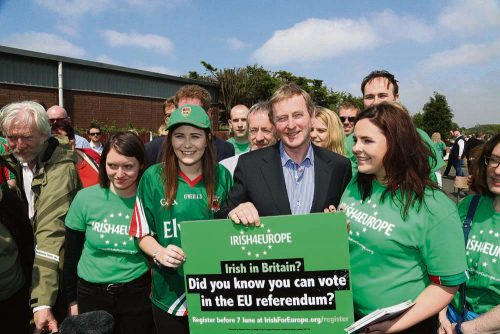 Enda Says Vote Stay