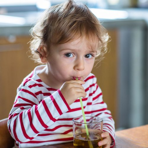 Apple juice can help kids get through stomach flu