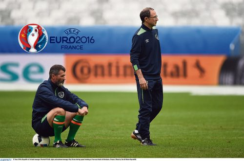 Euros must win test Irish football