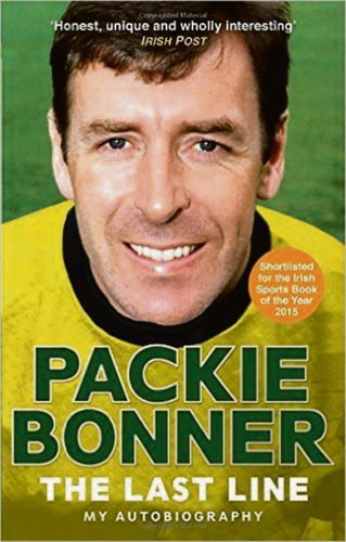 Packie Bonner World in his hands