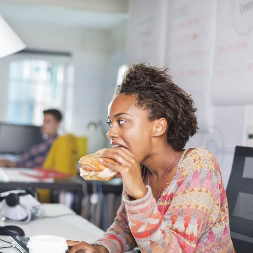 Desktop dangers: Working through lunch can increase health risks