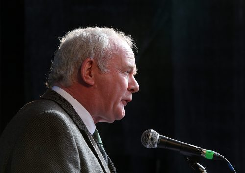 McGuinness: United Ireland vote 'imperative' following Brexit