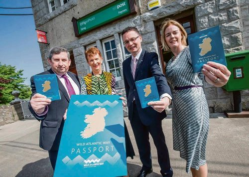 Border controls Wild Atlantic Way passport