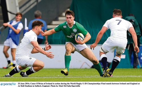 England blows away Ireland U20s