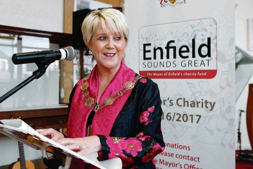 Enfield Mayor celebrating multiculturalism