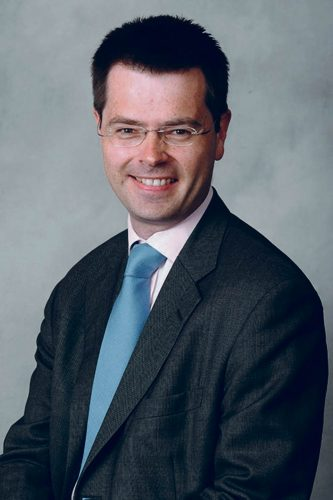 New Northern Irish Secretary James Brokenshire borders