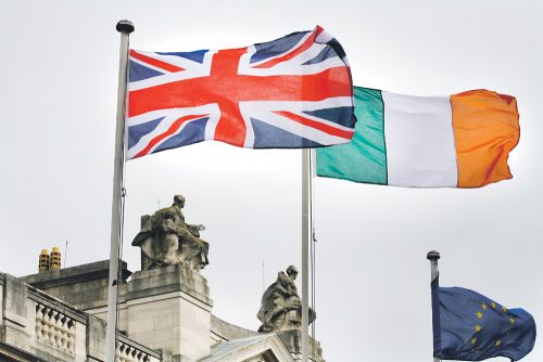 UK Irish emigrants happier
