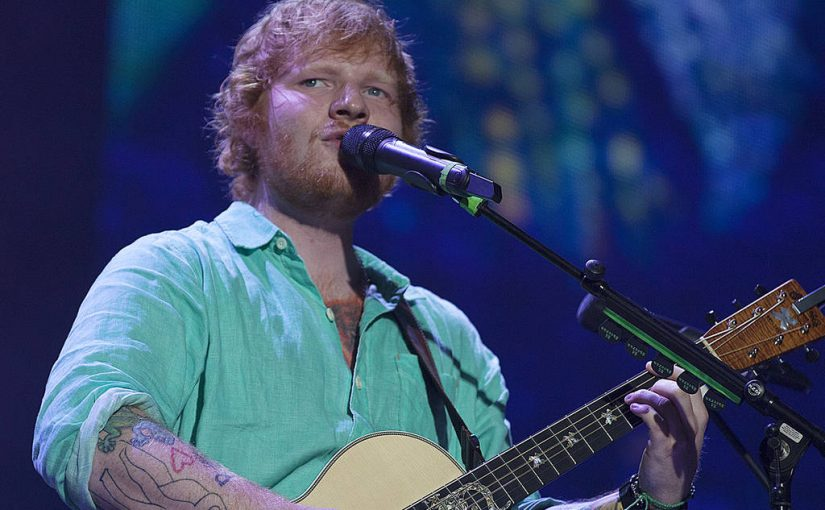 Ed Sheeran has fans guessing with wedding ring photo