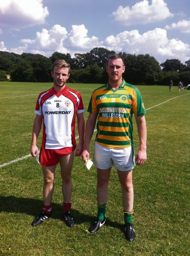 London GAA Butler ignites TCG