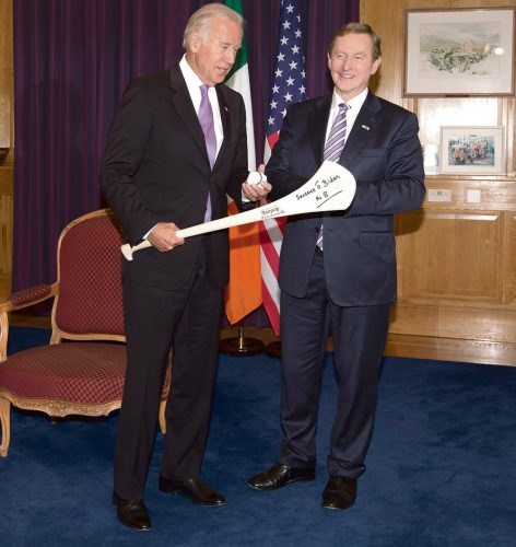 Biden bids Ireland Farewell