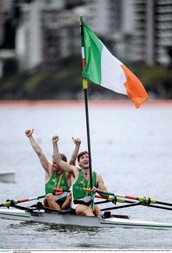 Mixed fortunes Ireland Rio