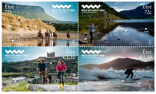Wild Atlantic Way new stamps