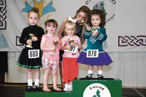 Irish Dancing high energy athleticism