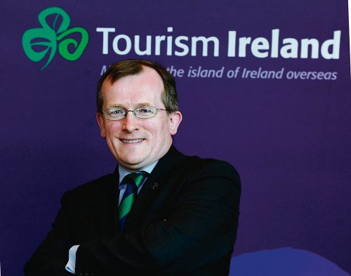 20/02/2012. Pictured is Niall Gibbons, chief executive of Tourism Ireland at the press brief of Tourism Ireland announcement plans for global St. Patrick's day celebrations. Photo: Sasko Lazarov/RollingNews.ie