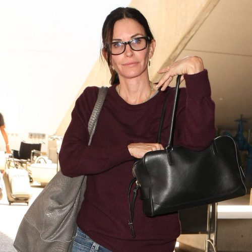 Courteney Cox struggled survival show