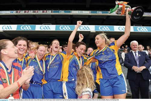 London GAA Magnificent Parnells ladies World Champions