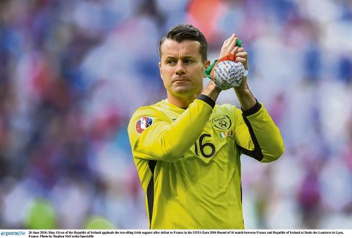 Shay Given international career