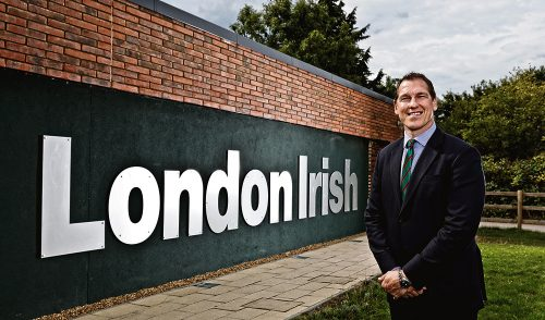 Bob Casey Leave London Irish Rugby Club