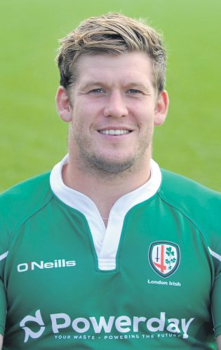 Rugby Exiles london irish win