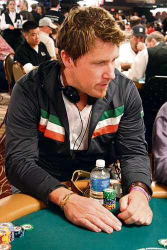 Lucky Irish Ciaran O'Leary poker