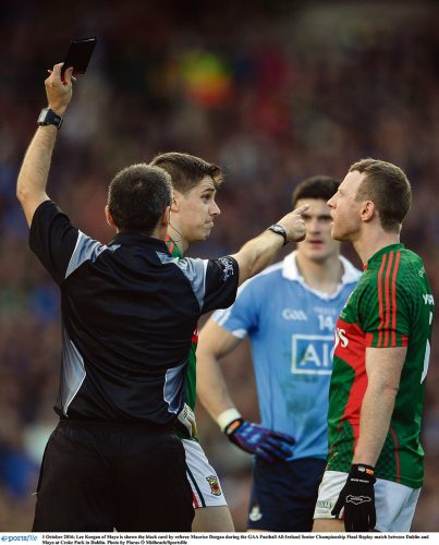 GAA RED CARD BLACK CARD