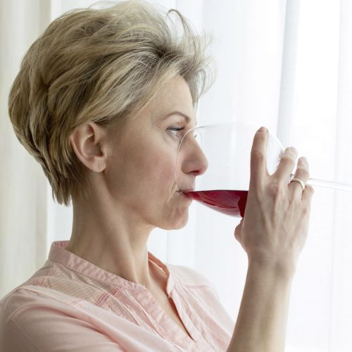 Antioxidant red wine polycystic ovaries