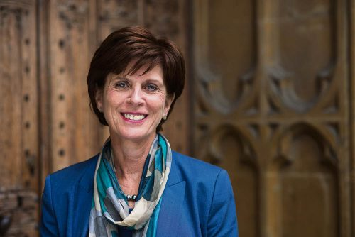 Oxford's Vice Chancellor Professor Louise Richardson