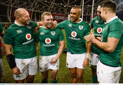 Irish Rugby November remember