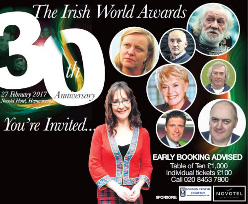Irish World 30th Anniversary Awards 2017