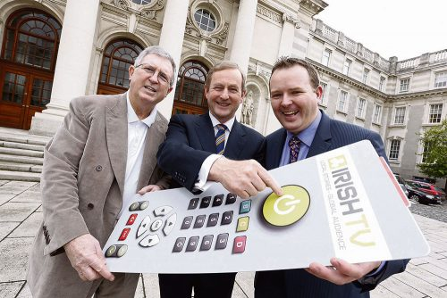 Irish TV ceases production