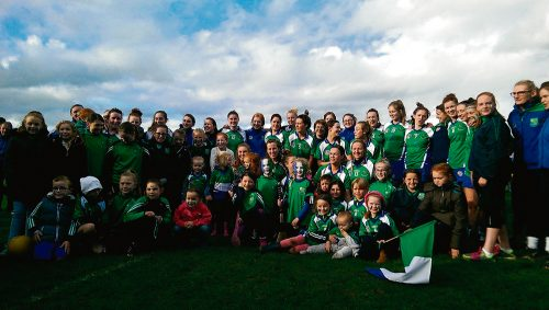 Camogie Johnstownbridge retain All Ireland title