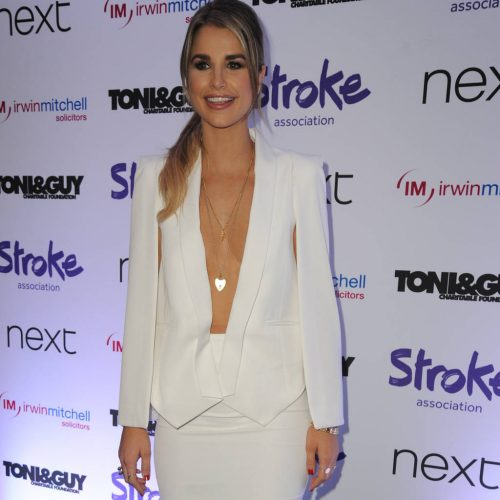 Vogue Williams hits slopes The Jump