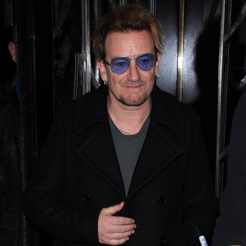 Bono Glamour first Man Year
