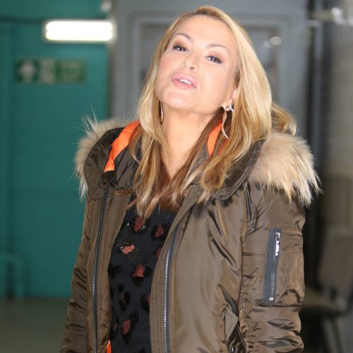 Tearful Anastacia Strictly Come Dancing